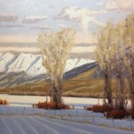 Patrick Duke, Anthracite Winter, oil, 24 x 36.