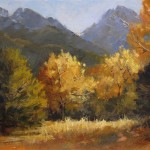 Peggy Immel, Autumn in Crestone, oil, 11 x 14.
