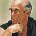 Portrait of John, oil, 14 x 11.