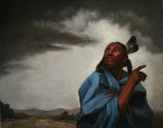 Coulter Prehm, Pray for Rain, oil, 24 x 30.