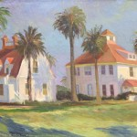 Chuck Kovacic, Presidio Residences, oil, 18 x 24.
