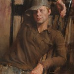 Jeff Merrill, Retired, 5353B, oil, 24 x 18.