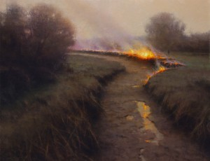 Brent Cotton, Rite of Spring, oil, 32 x 40.