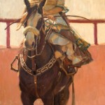 Gladys Roldan-de-Moras, Solitaria, oil, 24 x 18.