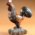 Doug Hyde, Romeo, bronze, 17 x 13 x 6.
