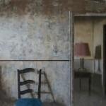 Matthew Saba, Room After Homes, oil, 22 x 16.