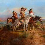 Charles M. Russell, The Scouting Party, oil, 24 x 36. Estimate: $2,000,000-$3,000,000.
