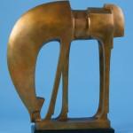 Wayne Salge, Sego, bronze, 28 x 24 x 8.
