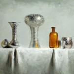 David Cheifetz, Sentinel Foil, oil painting