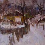 Sergay Kovalenko, Evening, oil, 20 x 24.