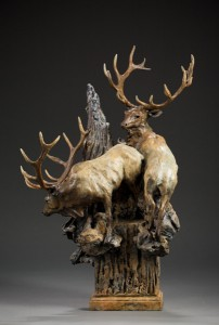 Sherry Salari Sander, Summer in the High Country, Bronze, 22 x 15 x 12.