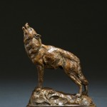 Tim Shinabarger, Hunter's Moon, bronze sculpture