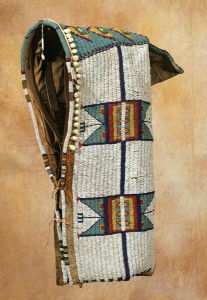 Sioux Beaded Cradle, circa 1890. Estimate: $10,000-$12,000.