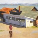 Tim Horn, Snack Shack, oil, 12 x 16.