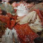 Kevin Beilfuss, Sophia, oil, 24 x 36.