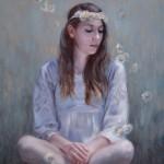 Derek Harrison, Spring, oil, 26 x 20.