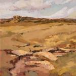 Paul Steiner, Cloud Rise, oil, 36 x 30.