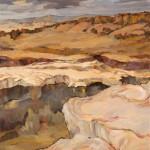 Paul Steiner, Dark Sky, oil, 36 x 30.