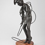 Michael Naranjo, Summer Hawk, bronze sculpture