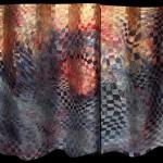 Suzanne Donazetti, Stormy Sunrise, copper/mixed media, 22 x 30.