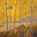 John Taft, Autumn Radiance, oil, 30 x 36.