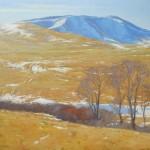 John Taft, Greenwood Hills, oil, 36 x 42.