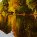 Terri Sanchez, Oak Reflections, oil painting