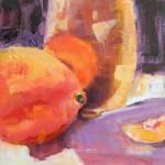 Terrie Lombardi, Quiet Dignity, oil, 8 x 8.