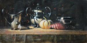 Elizabeth Pollie, The Edge Of Things, oil, 20 x 24.
