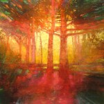 Mark Gould, The Great Forest: Arcadian 935, acrylic, 24 x 24.