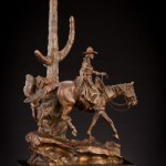 Curt Mattson, The Life She Loves, bronze, 18 x 11 x 6.