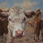 William Suys, Time to Make My Move!, oil, 24 x 30.
