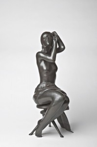 Michael Naranjo, Tranquility, bronze sculpture