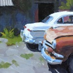 Tim Horn | Two-Fords, oil painting
