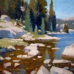 Tyler Murphy, Beartooth, Sun, oil, 8 x 10.