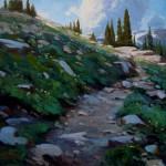 Tyler Murphy, The Beaten Path, oil, 16 x 20.