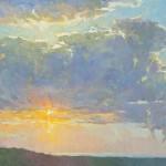 Jennifer Moses, Unblushing, oil, 16 x 18.