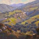 Jim Wodark, Valley of Oaks, oil, 16 x 20.