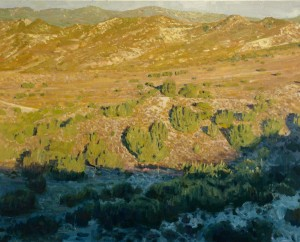 Victor Schiro, Hungry Valley, oil, 24 x 30. [MUST USE]