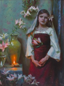 Michael Malm, Awaiting, oil, 24 x 18.