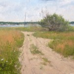Marc Hanson, Wellfleet, oil, 14 x 18.