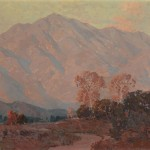 Edgar Alwin Payne, Sunset on the Foothills, oil, 24 x 28.