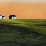 Kathy Beekman, When the Sky Turned Orange II, pastel, 30 x 22.
