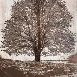 Maura Allen, Winter Solstice, acrylic, 48 x 32.
