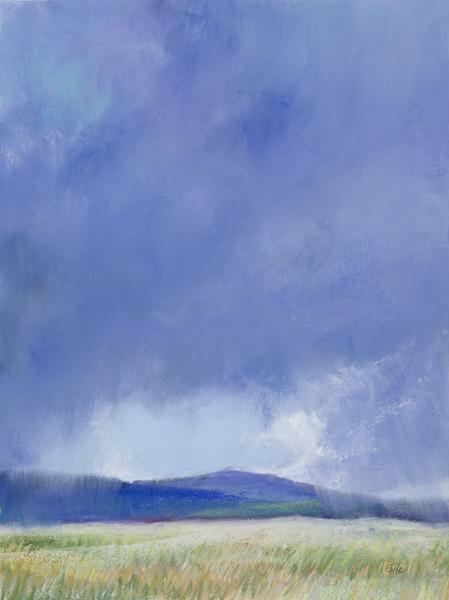 Enid Wood, Promise, pastel, 18 x 12.