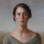 Zoey Frank, Homesteader, oil, 18 x 16.