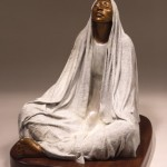 Shirley Thomson-Smith, Peaceful Meditation, bronze, h16.