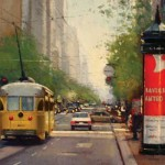 Douglas Morgan, Stoplight | Plein-Air Painter