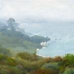 Dave Santillanes, El Matador State Beach, oil, 8 x 10.