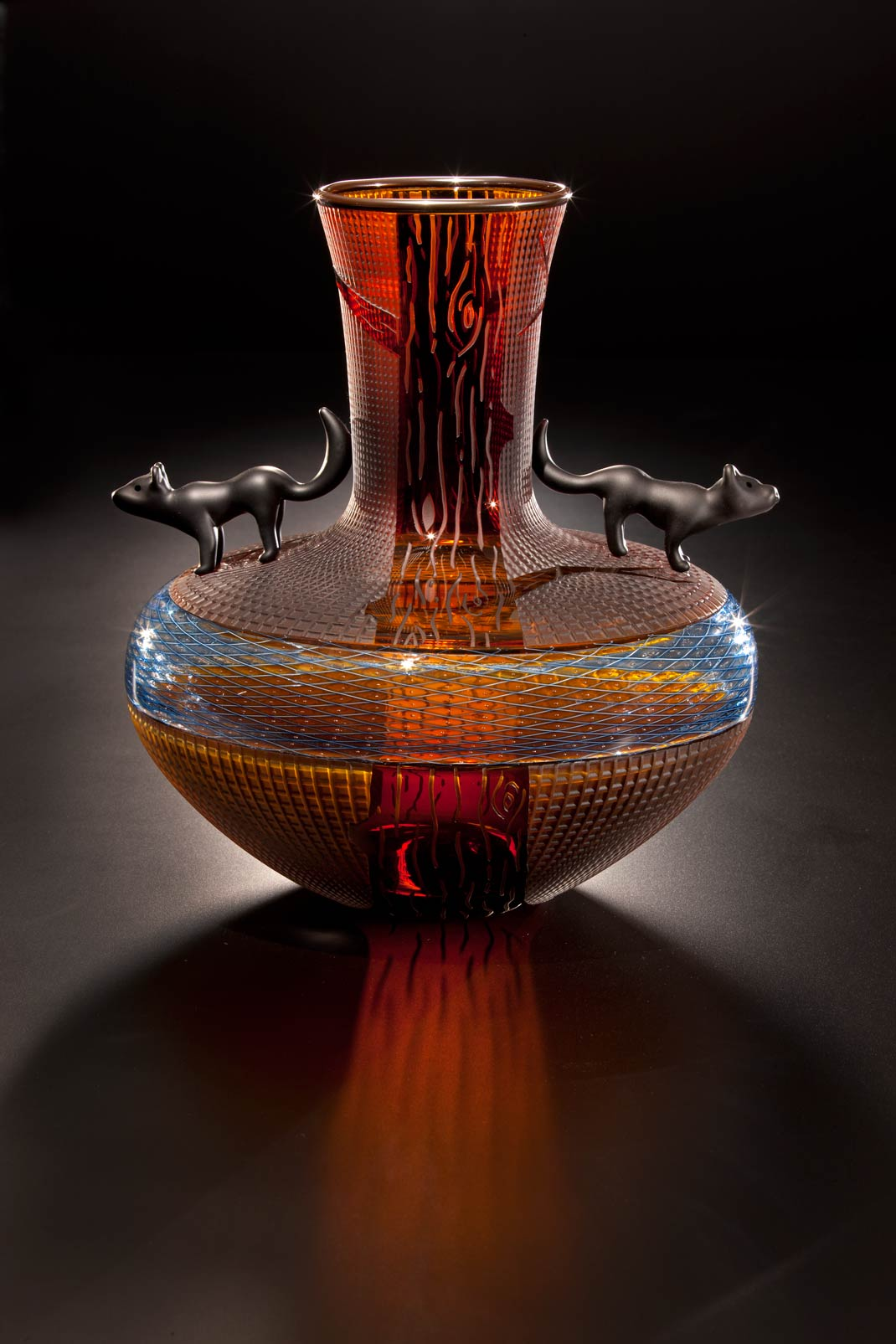 Glass Art by Singletary and Marioni
